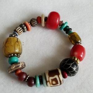 TRIBAL HOBO beads bracelet